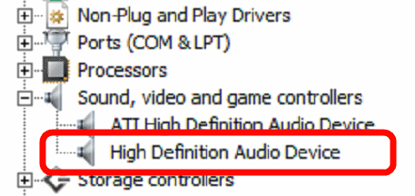 High Definition Audio Device Driver Windows 7 64 Bit