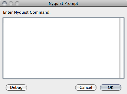 Audacity Nyquist prompt window