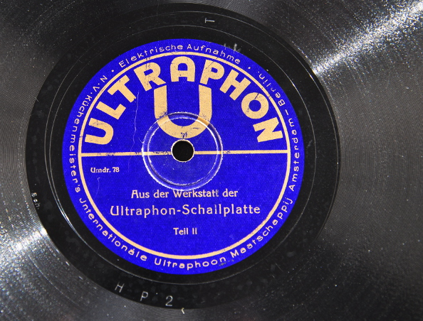 Playback equalization for 78 rpm shellacs and early 33⅓ LPs